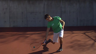 Ben Croft How to hit a Forehand in Racquetball
