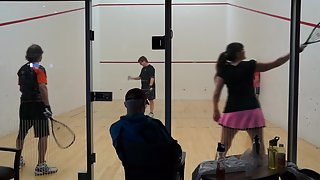 Krume/Turly vs Hunchner/Johnson Mixed Doubles WRT Mt. Rainier Part 1