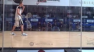 Ben Vs. Rocky - Quarterfinals of the US Open Racquetball 2009