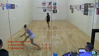 Round of 16 - Key v Rascon Ektelon Pro-am 2014