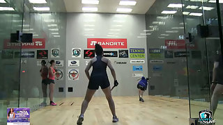 Key/Lambert vs. Luque/Rodriguez LPRT Paola Longoria Invitational Quarters