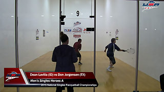 Lavilla vs. Jorgensen USA Racquetball Nationals Mens Singles