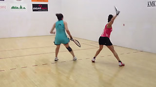 Racquetball's Best of the best Paola Longoria!