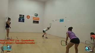 Key/Lambert vs. Gonzalez/Gonazalez LPRT Pro Nationals Doubles Quarterfinals