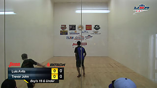 Avila vs. John USAR Nationals Boys Singles 18 and Under