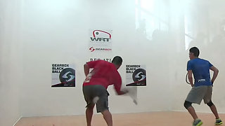 Herrera vs. Parrilla WRT Atlanta Open Quarters