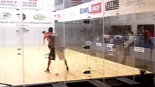 US Open 2010 Ben Croft vs Mitch Williams