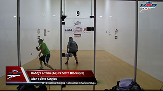 Ferreira vs. Black USA Racquetball Nationals Men's Elite Singles