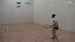 Jr Worlds Racquetball 2011 Girls 18 Singles USA vs Canada