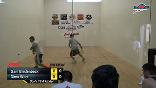 Bredenbeck vs. Wert USAR Nationals Boys 18 and Under Singles